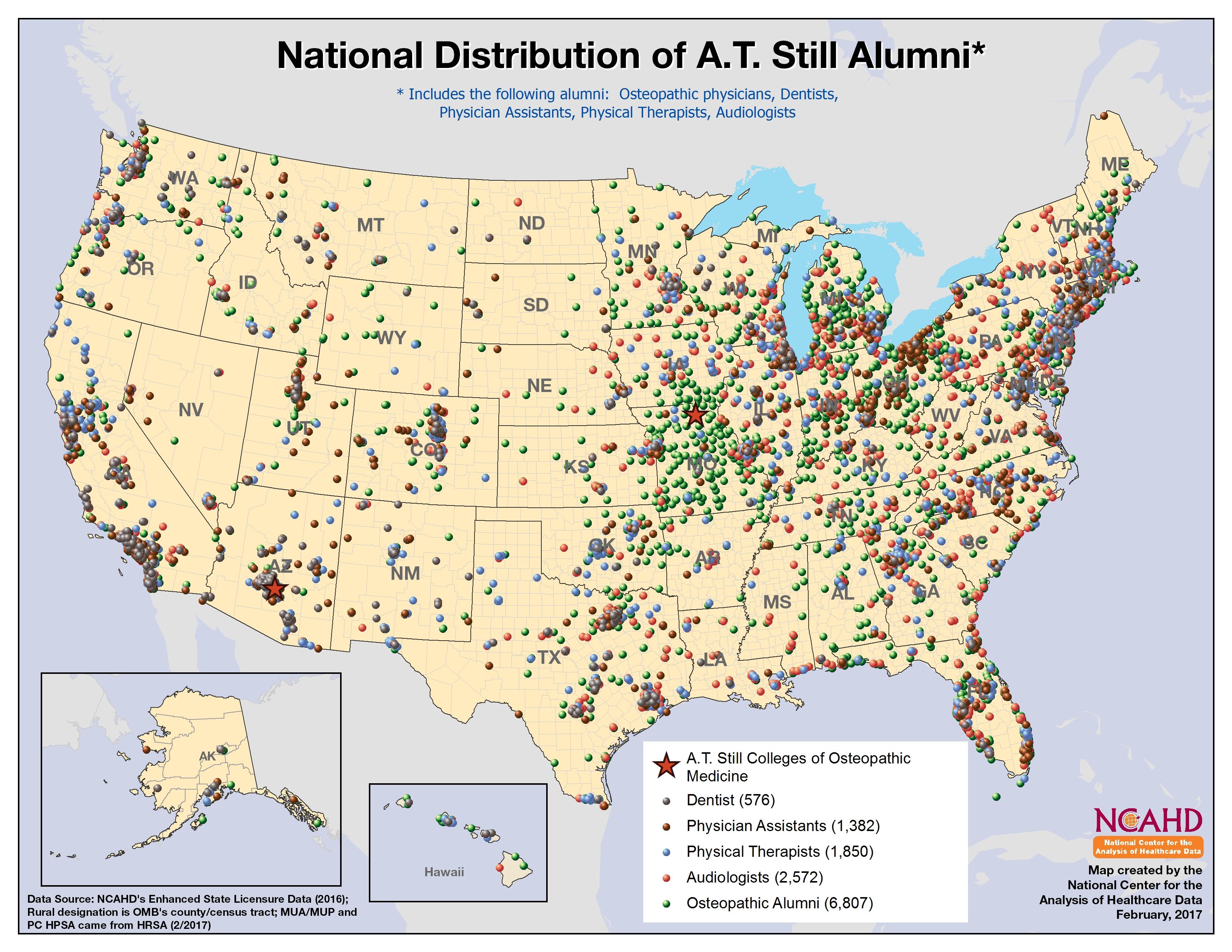 AT Still _National_Distribution all Alumni